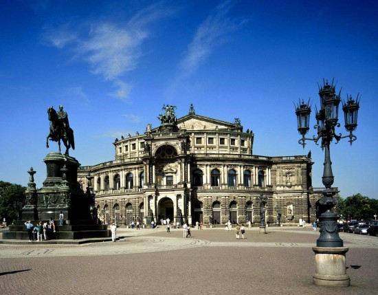 De Semperoper in Dresden