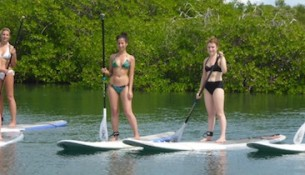 Sup in Curacao
