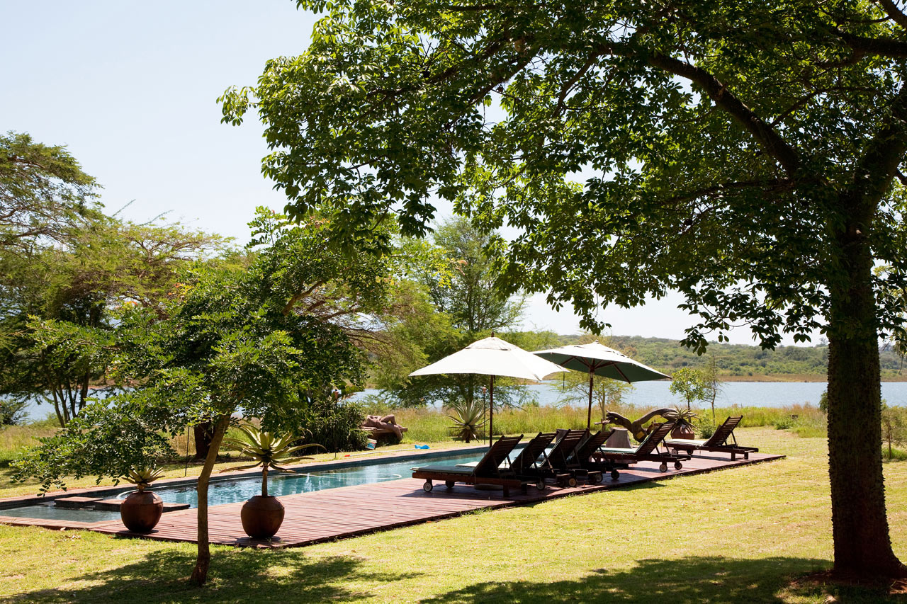 Shiluvari lakeside lodge Zuid-Afrika