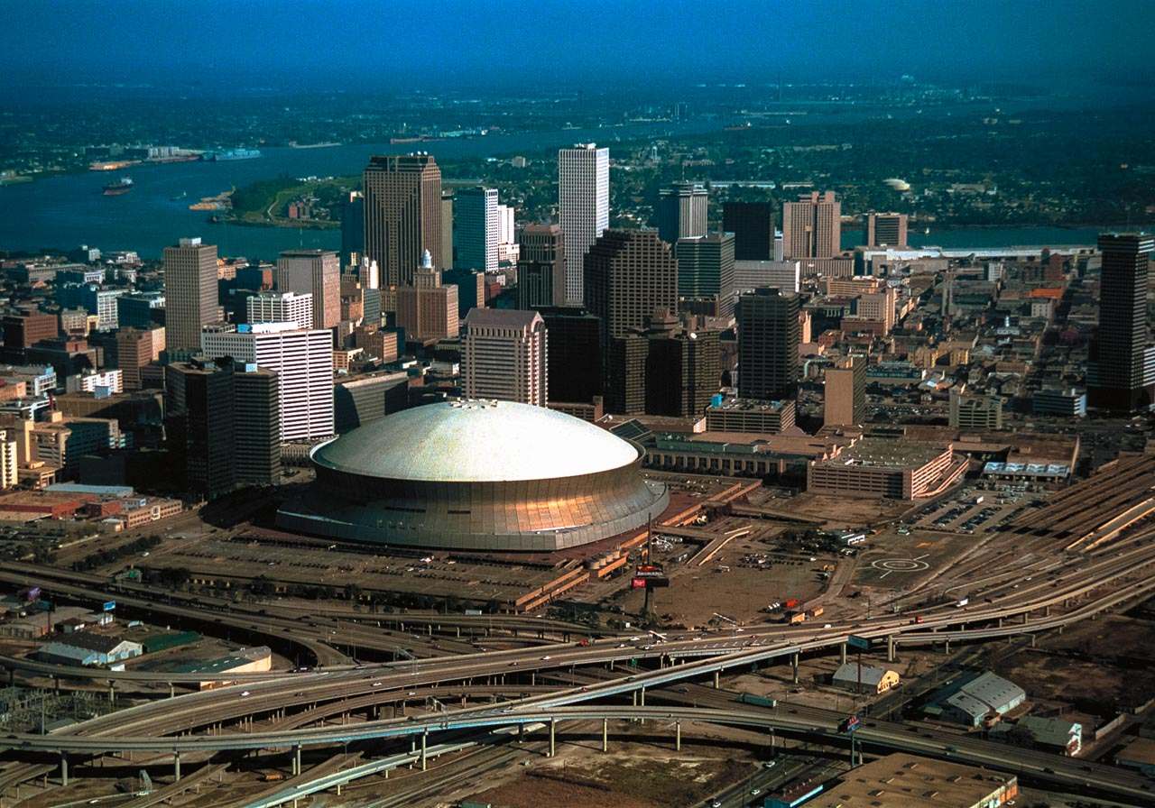 De Superdome in New Orleans