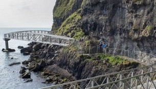The Gobbins in Ierland