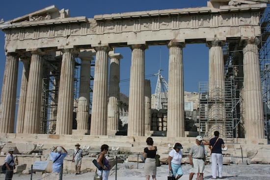 Akropolis in Athene