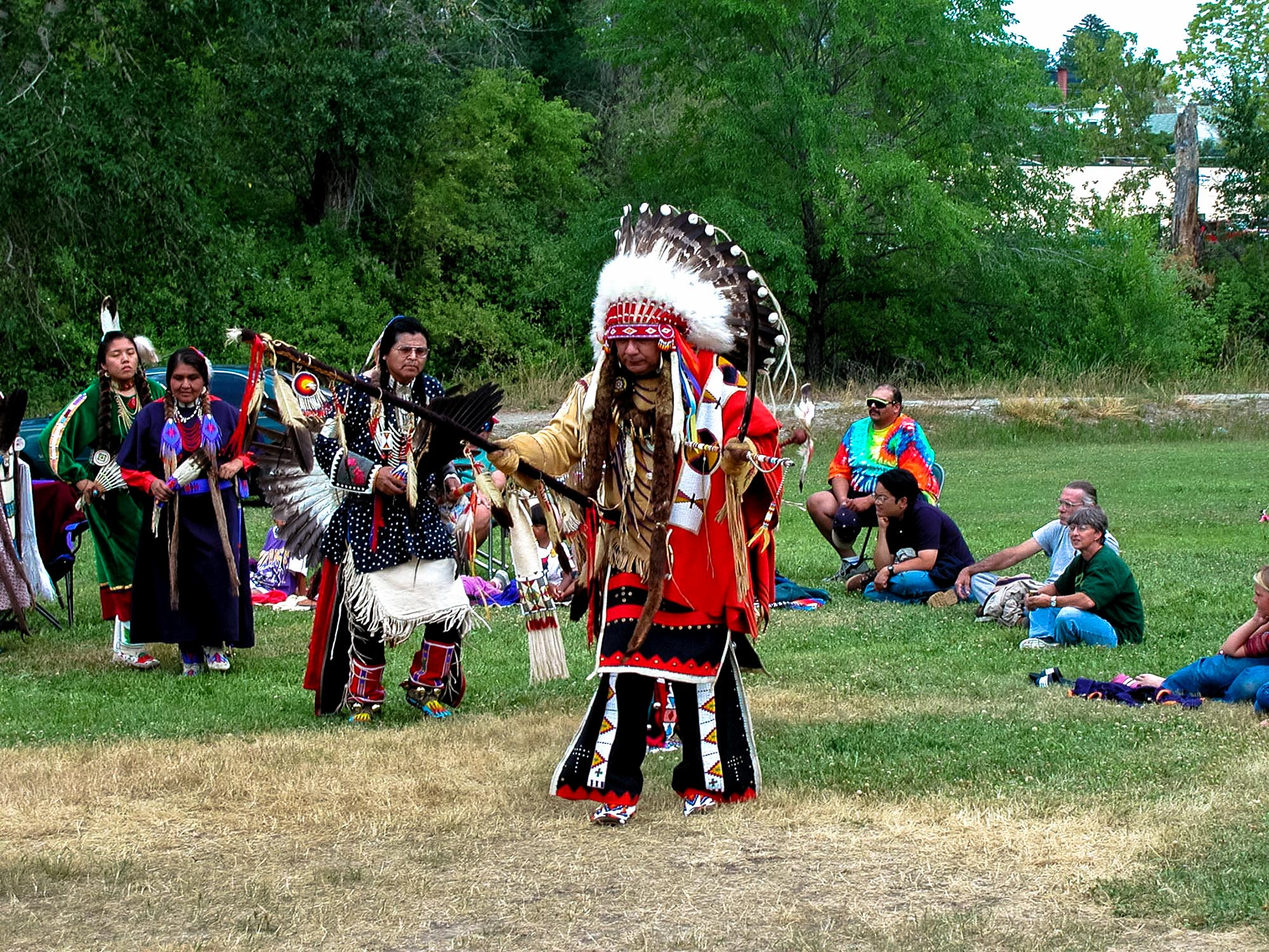 Dancer, Sacajawea Heritage Days
