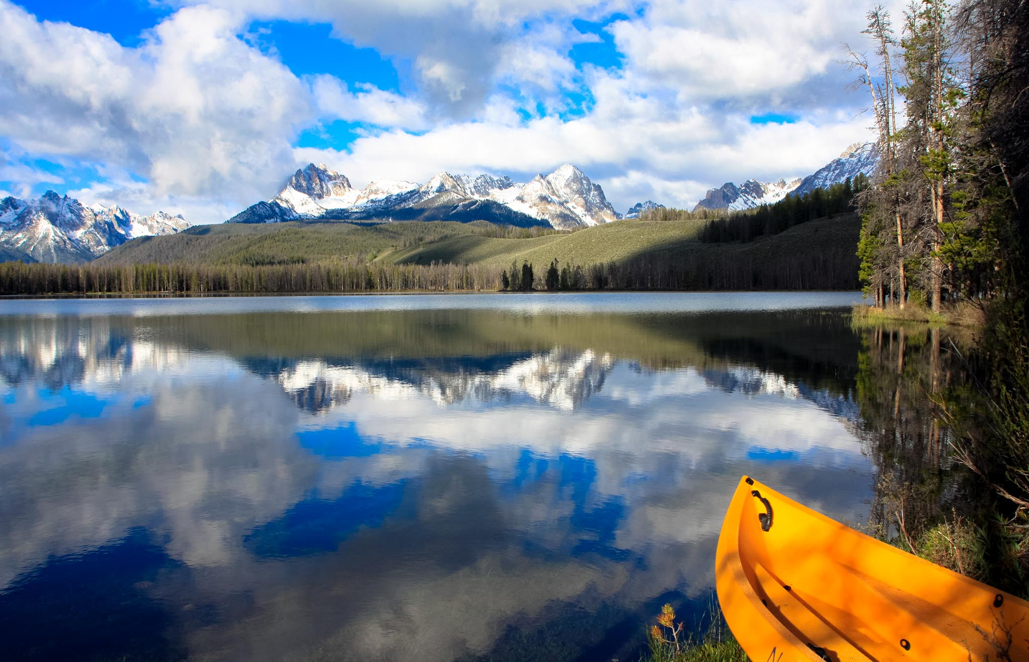 Canoe, Little Redfish Lake