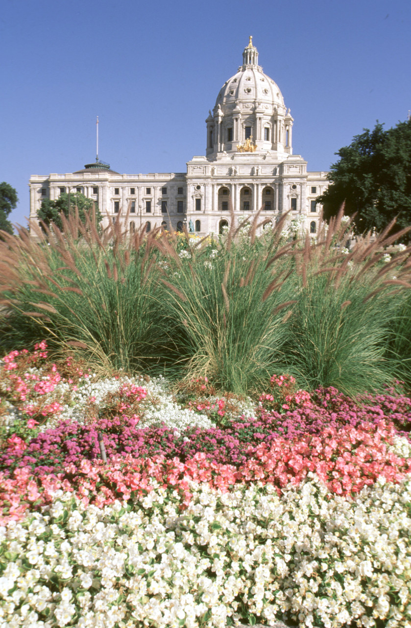 Minnesota State Capitol Building in St. Paul
