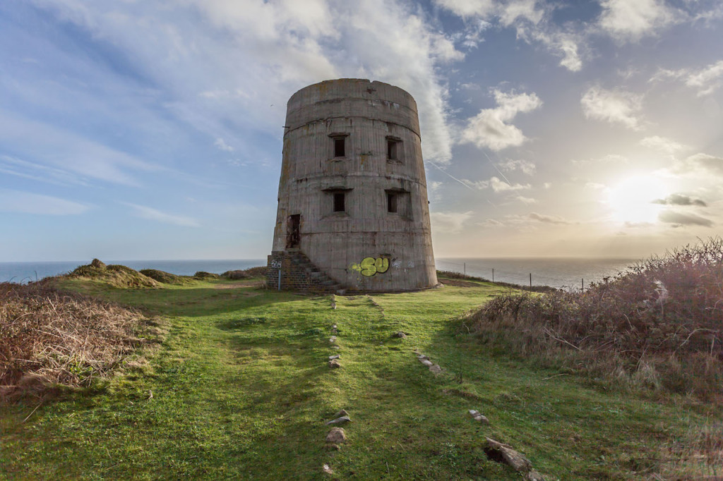 Le Prevote Tower op Guernsey