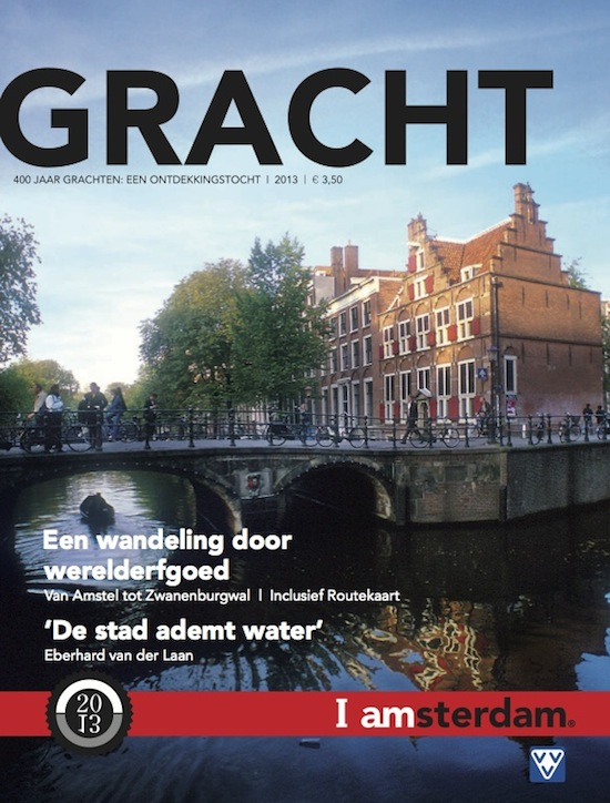de cover van Gracht magazine