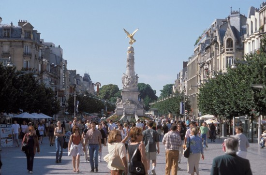 Place Drouet in Reims