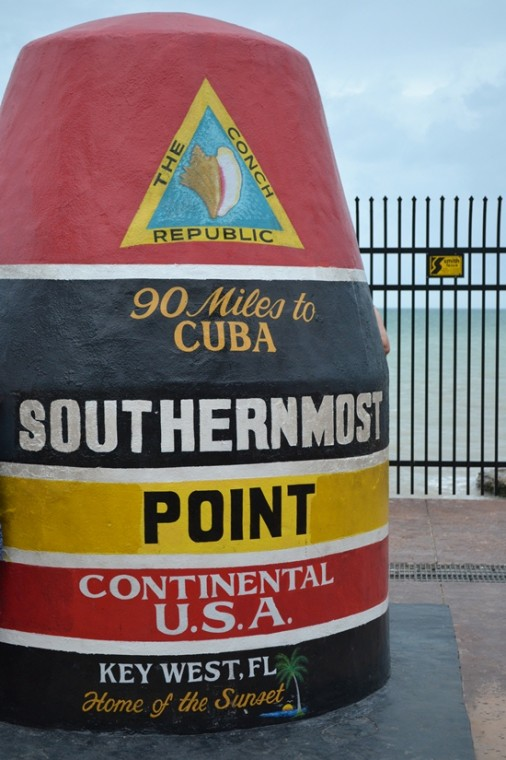 Southernmost Point in Key West.