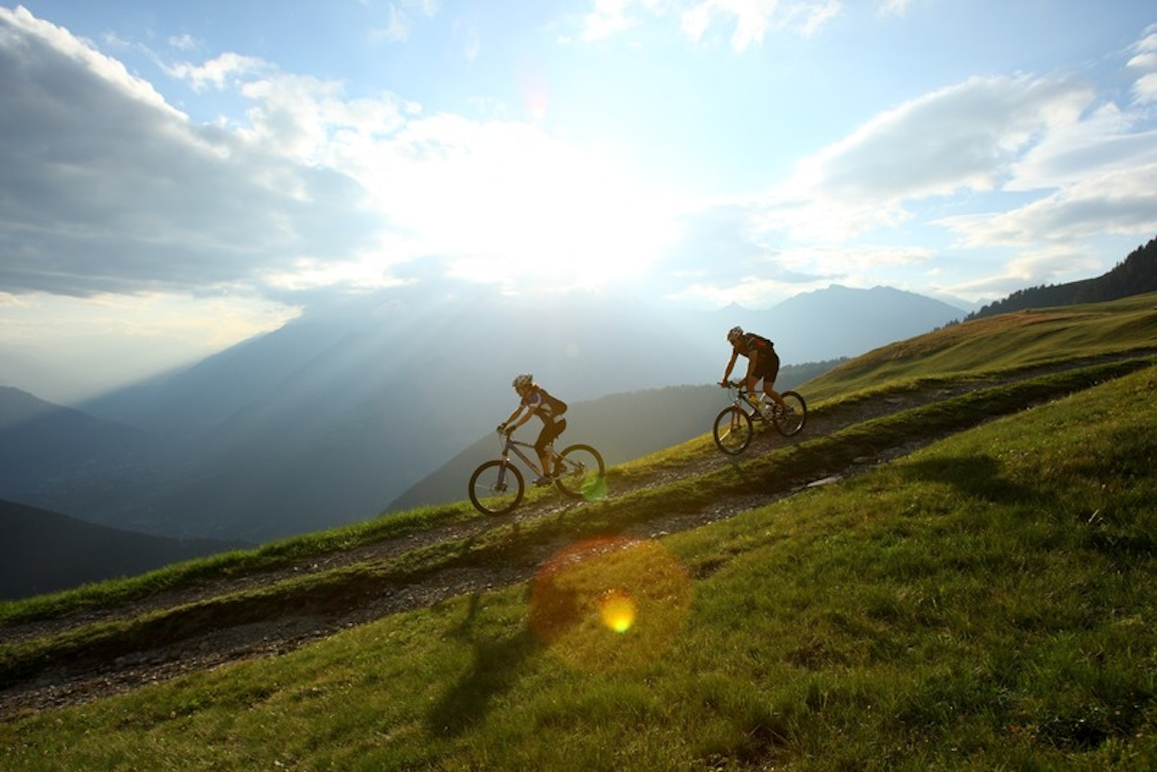 Mountainbiken in Zuid Tirol
