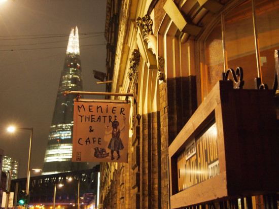 Menier Chocolate Factory and Shard