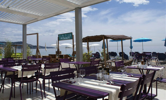 Hi Beach restaurant in Nice