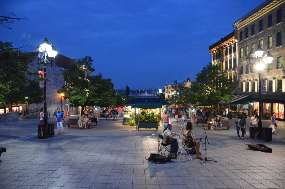 Oude stad Montreal