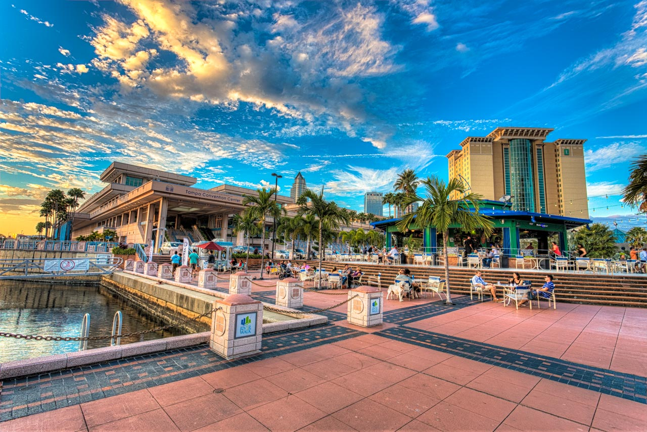 Convention center in Tampa Bay