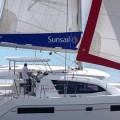 De Sunsail catamaran