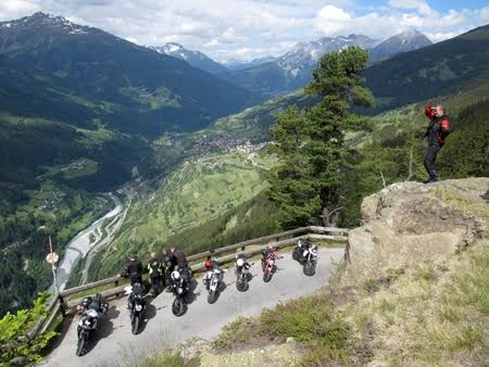 Top of the Mountain Bikers Summit in Ischgl ©TVB Paznaun – Ischgl