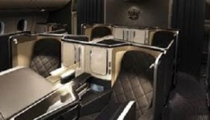 British Airways interieur