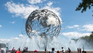 Flushing Meadows park in NYC