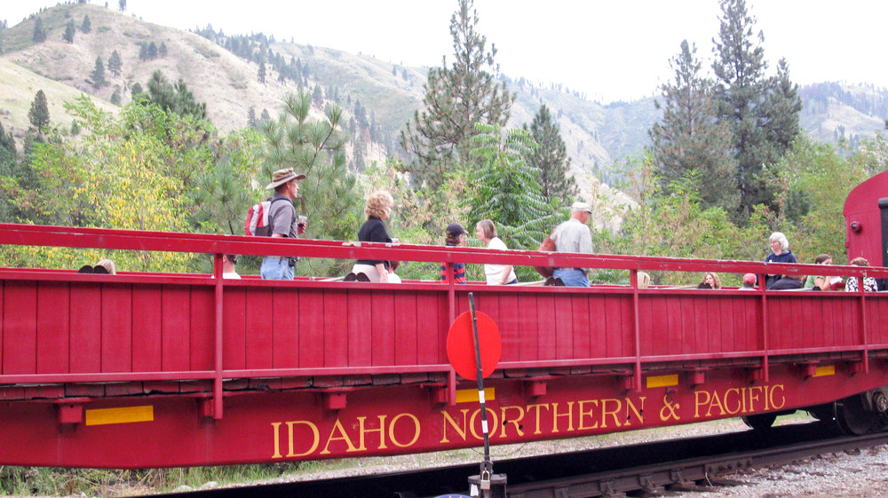 De Thunder Mountain Railroad in Idaho