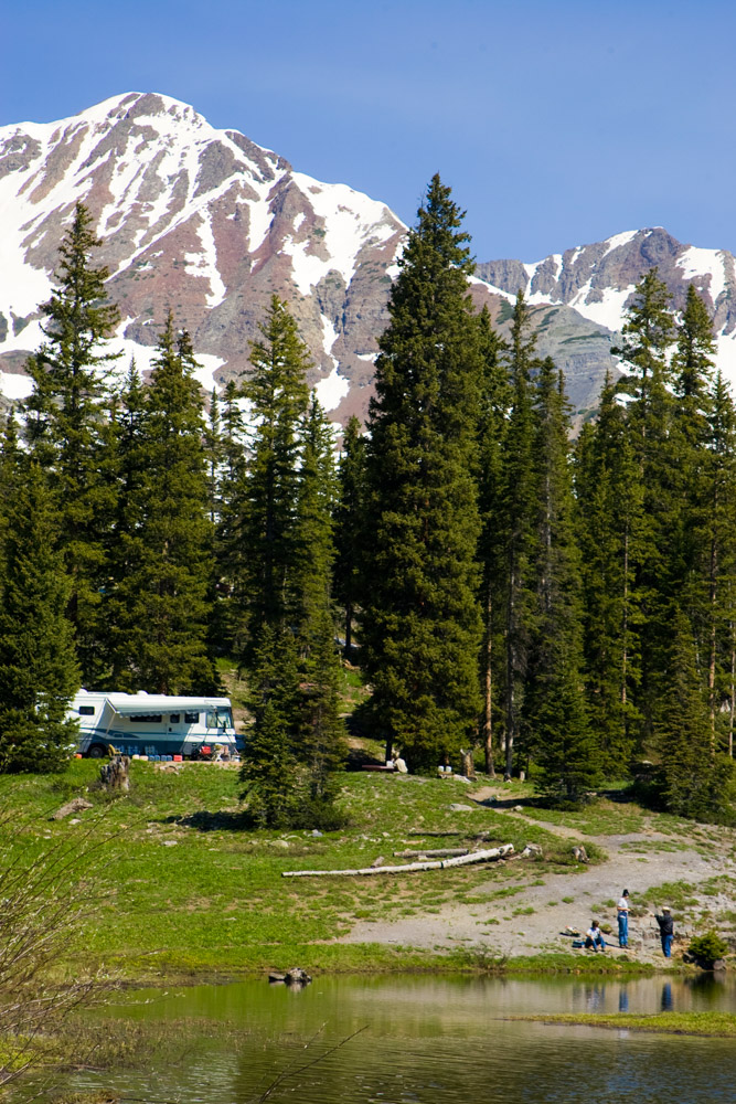 RV camping in ZuidWest Colorado