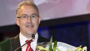 Aboutaleb met de award