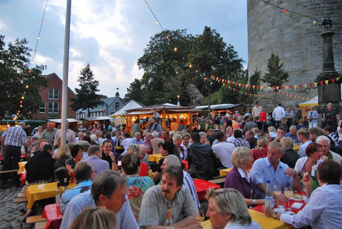 Wijnfeest in Bad Bentheim: © Grafschaft Bentheim Tourismus e.V.