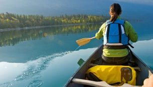 Kayaking in British Columbia