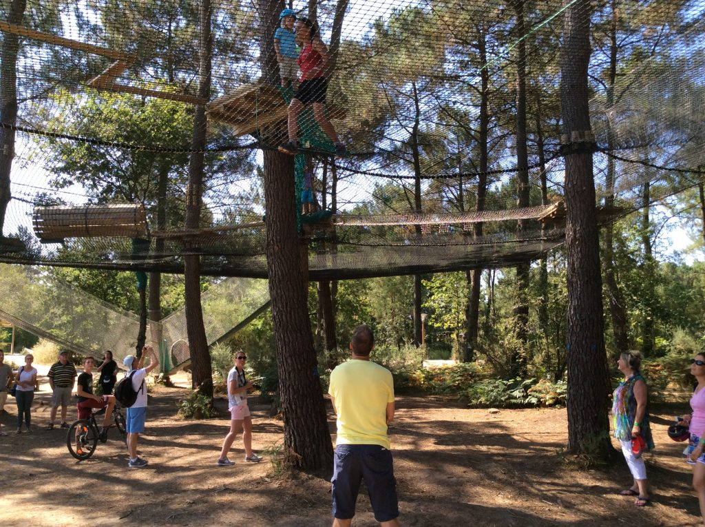 High Rope Course - Netting voor de hele familie Center Parcs Bois aux Daims