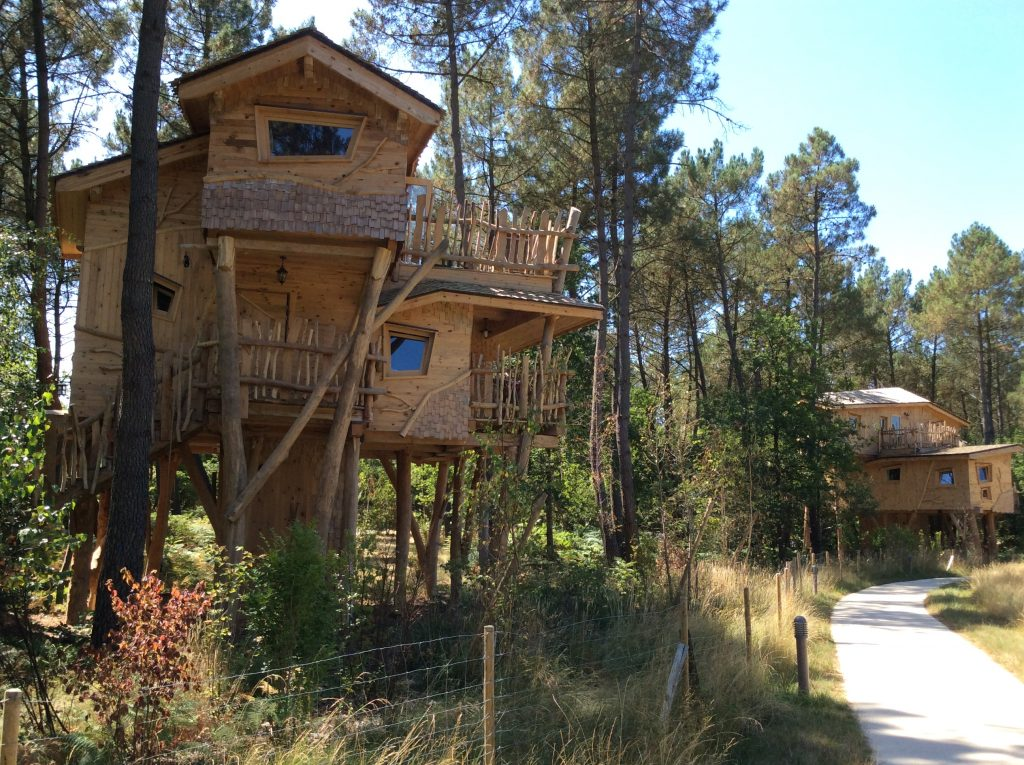 Boomhuis center parcs Bois aux Daims
