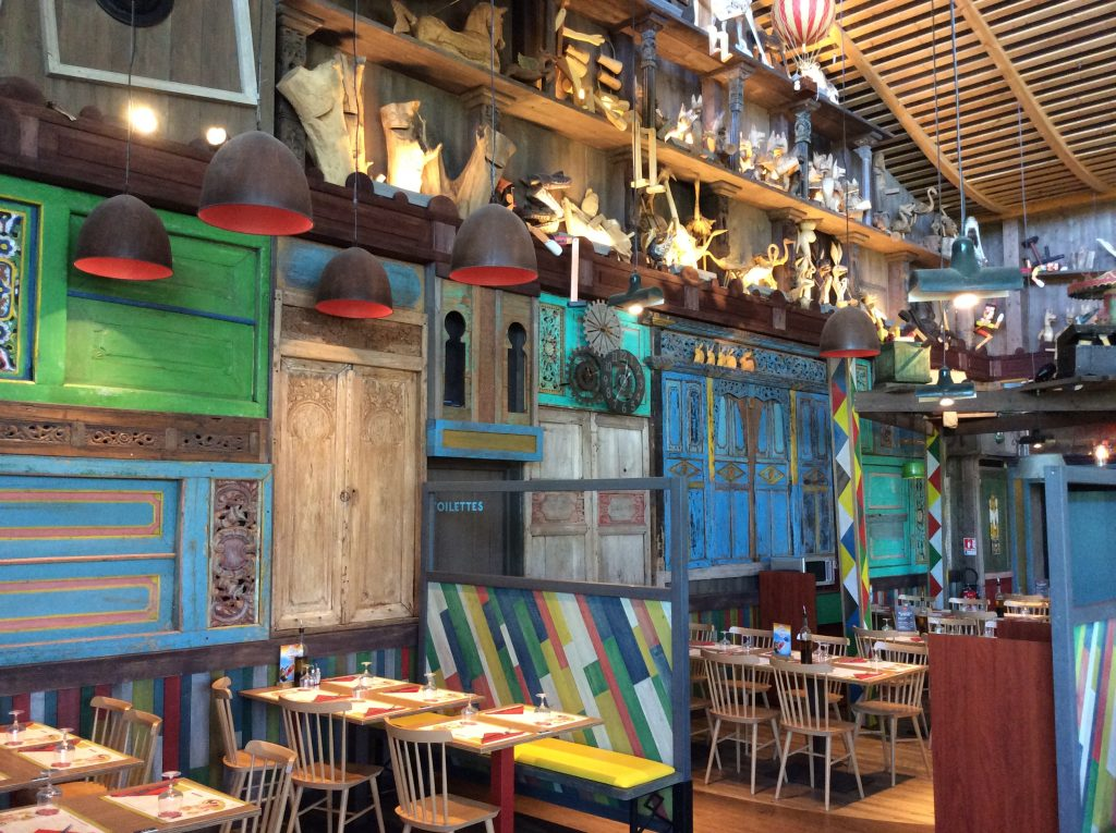 Italiaan Il Giardiono Pizza restaurant center parcs bois aux daims