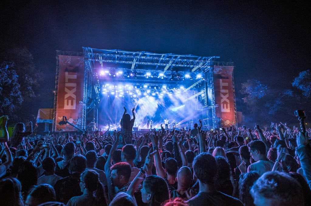 Audience, Main Stage @ EXIT Festival 2015 in Servië