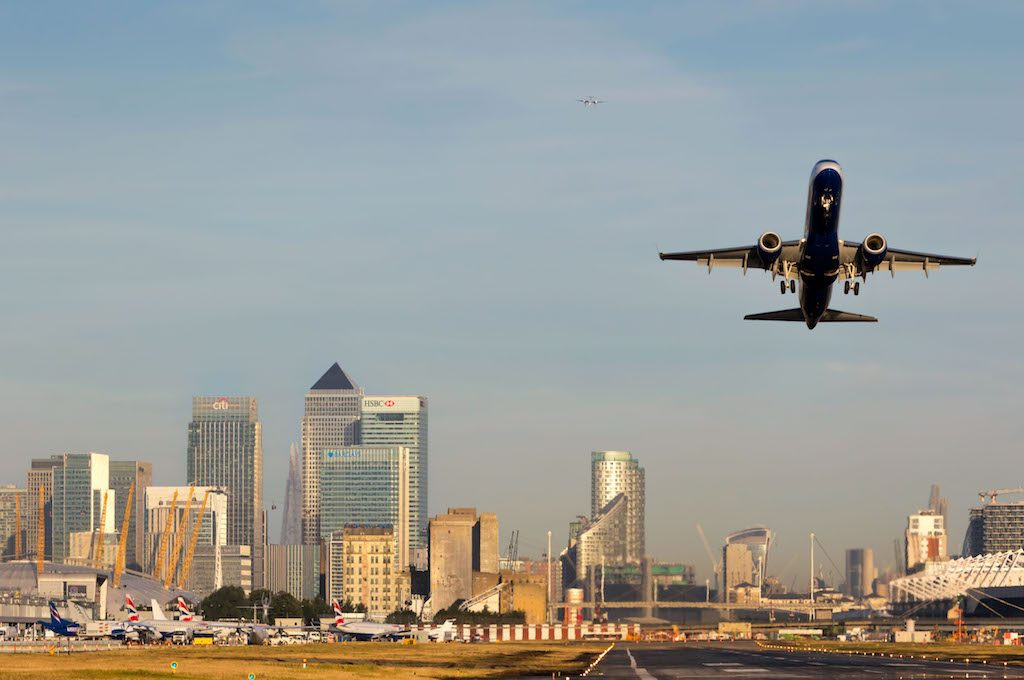 London City Airport. Foto van Ben Walsh.