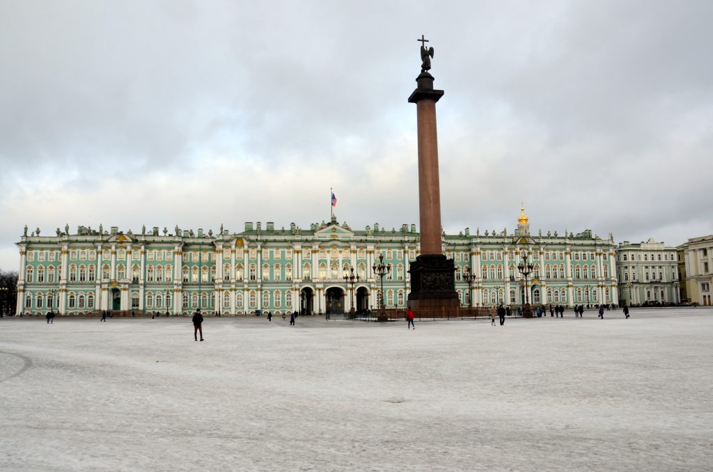 Het Winterpaleis in Sint-Petersburg