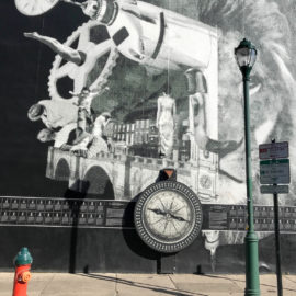 Interactieve Philly Mural: The Atlas of Tomorrow