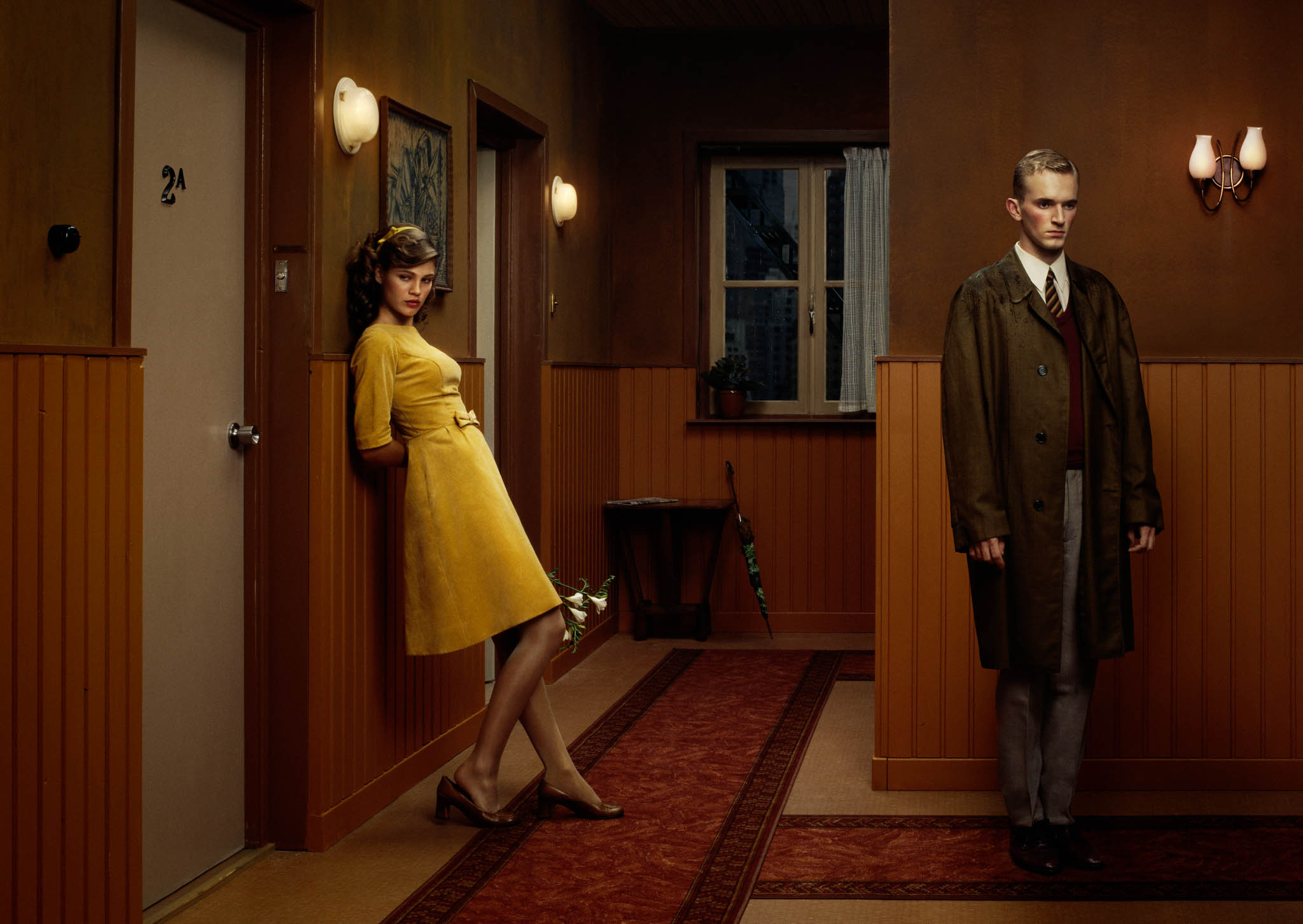 Erwin Olaf, Hope, The Hallway. 2005 © Erwin Olaf. Courtesy Flatland Gallery