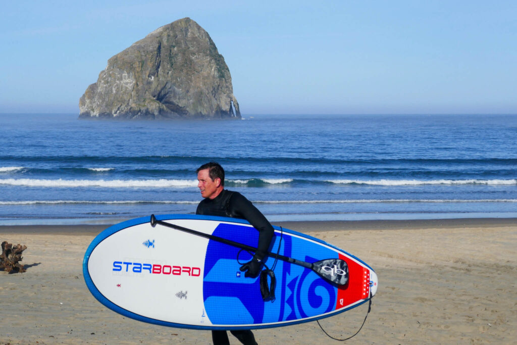 Surfer in Pacific City