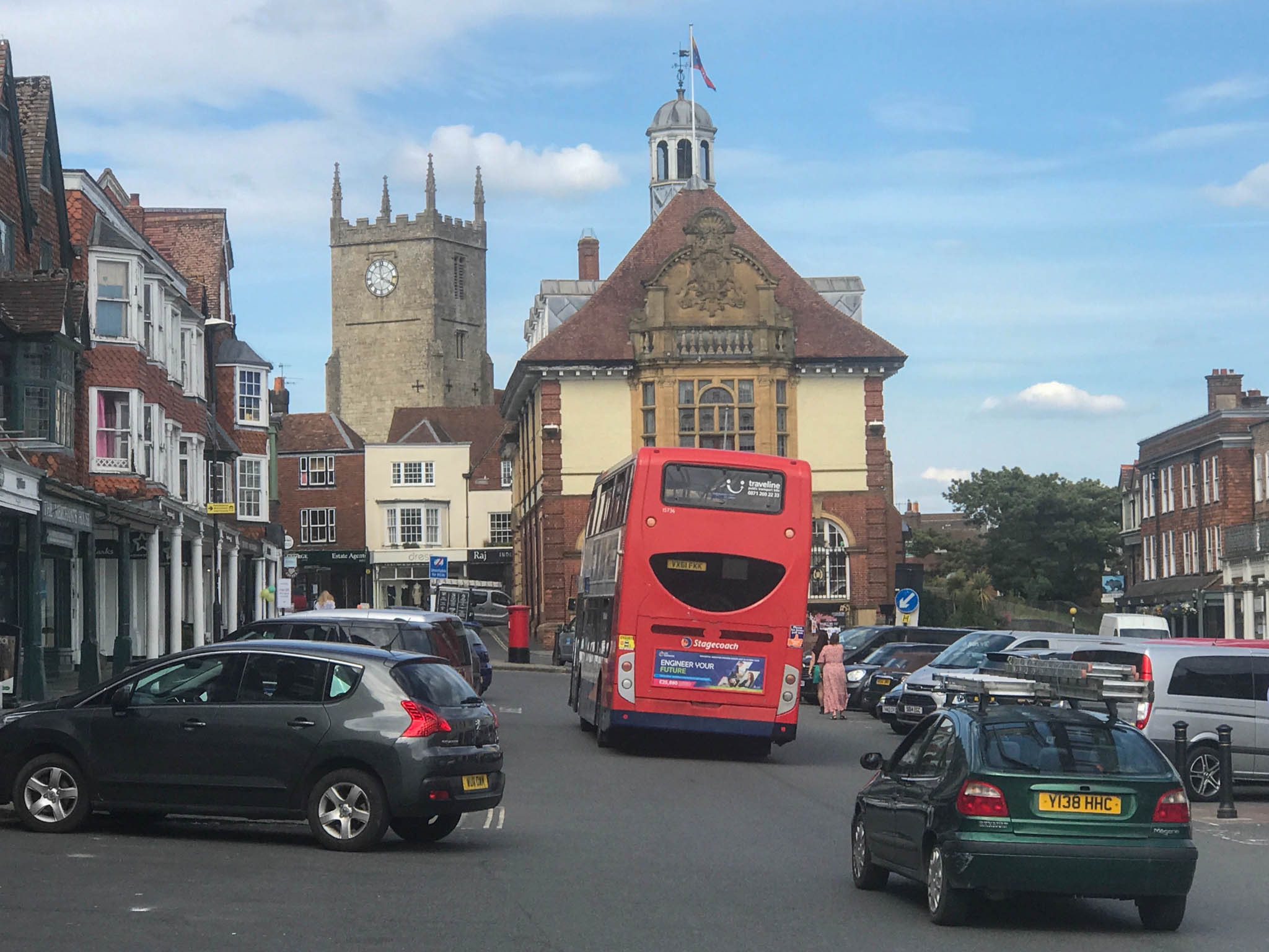 High Street in Marlborough