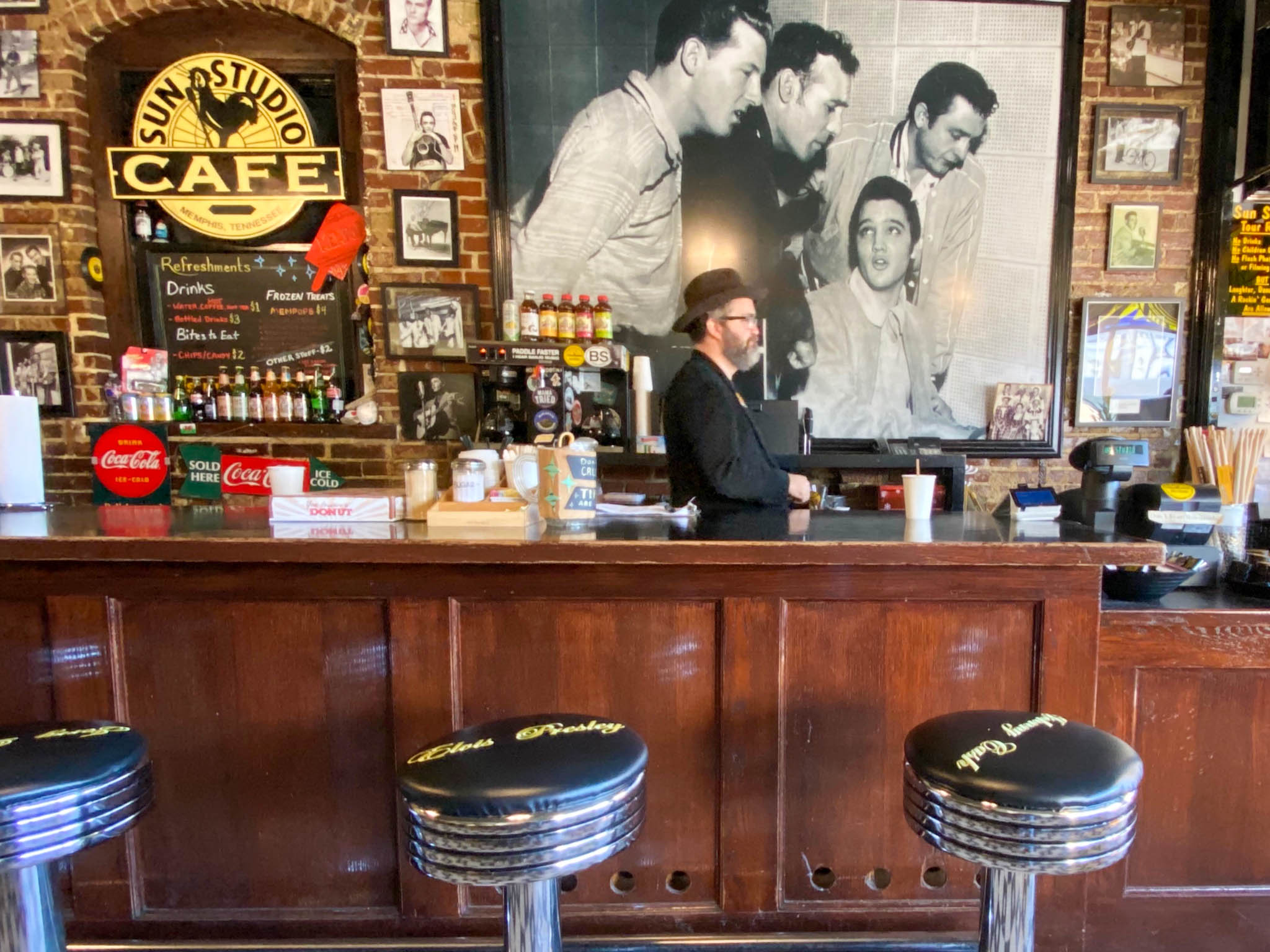 De bar van Sun Studio