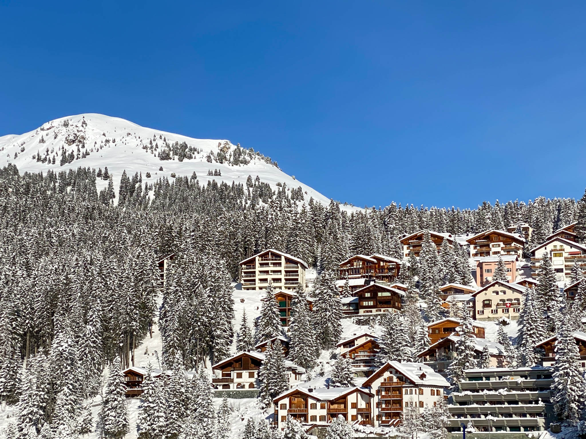 Chalets in Arosa