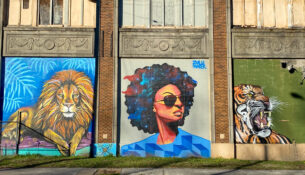 Street art in Memphis