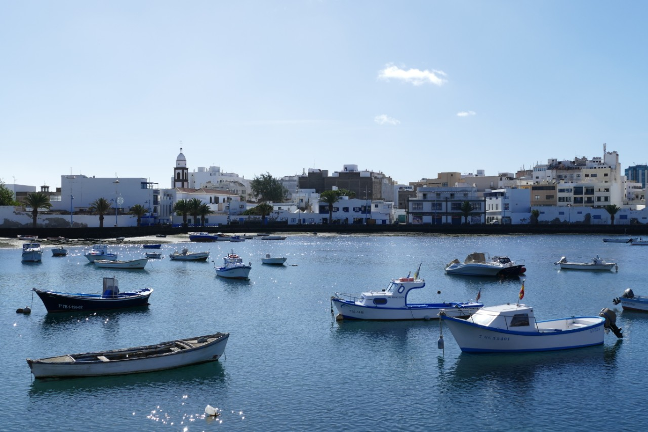 de oude haven Arrecife